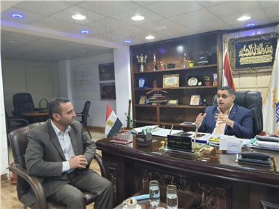 رئيس حي المطرية خلال حواره لبوابة أخبار اليوم