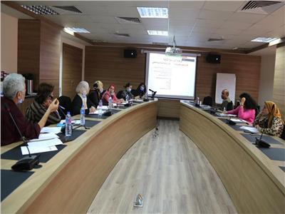 القومي للمراة يعقد اجتماعا تصحيح المفاهيم المغلوطة المختلفة ونشر ثقافة الصحة النفسية