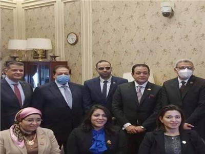 النائبة دعاء عريبي عضواً بلجنة حقوق الإنسان في مجلس النواب