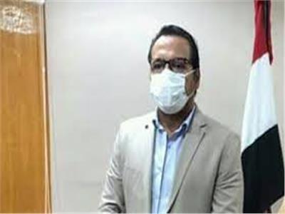 وكيل وزارة الصحة في السويس الاجتماع التنسيقي