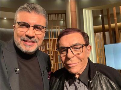 سمير صبرى خلال لقاءه مع الإعلامى دكتور عمرو الليثي