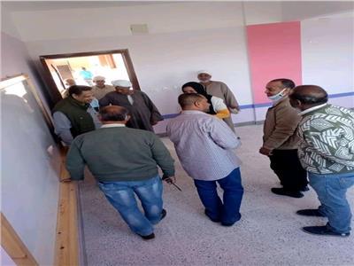 الإدارة الهندسية بمنطقة الأقصر الأزهرية تتسلم معهد أبوحليمة
