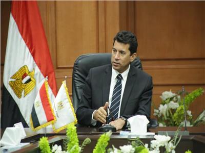 وزير الشباب والرياضة د. أشرف صبحي