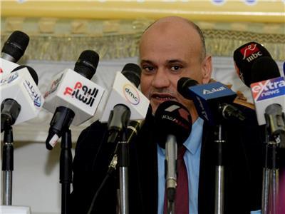الكاتب الصحفي خالد ميري، رئيس تحرير صحيفة الأخبار