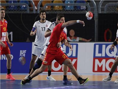 مباراة مقدونيا وتشيلي