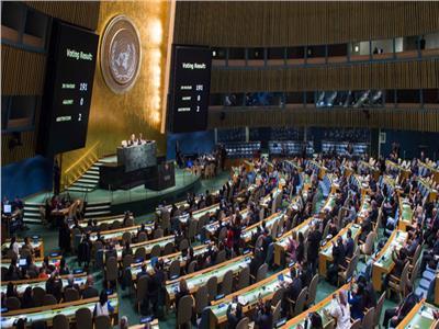 الجمعية العامة للأمم المتحدة - صورة ارشيفية