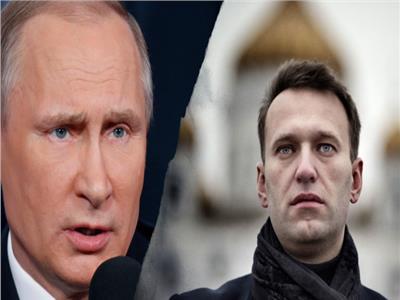 بوتين وأليكسي نافالني