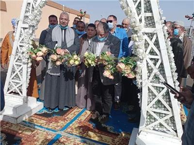 فتتاحمشروع سوق الجملة بمدينة السادات
