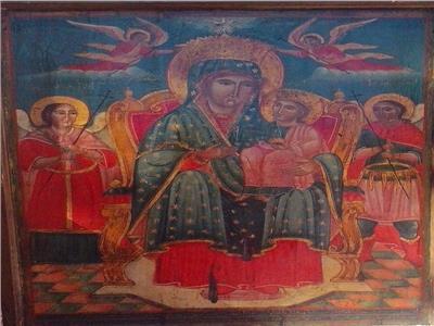 أيقونات دير الملاك ميخائيل بكفر الدير