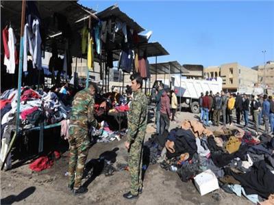 الجزائر تدين بشدة تفجيرين استهدفا سوقا ببغداد