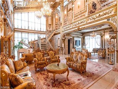 قصر من الذهب في روسيا