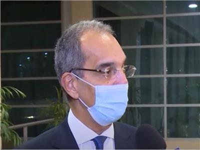المهندس عمرو طلعت، وزير الاتصالات
