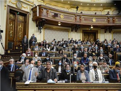 نواب التنسيقية على يسار منصة مجلس النواب