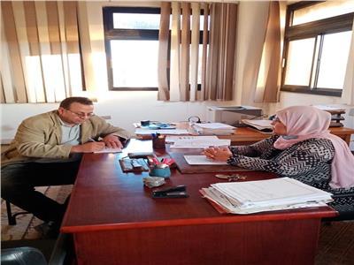 الدكتورة فاديكار فاضل مدكور رئيس قسم علوم البحار بكلية العلوم جامعة بورسعيد