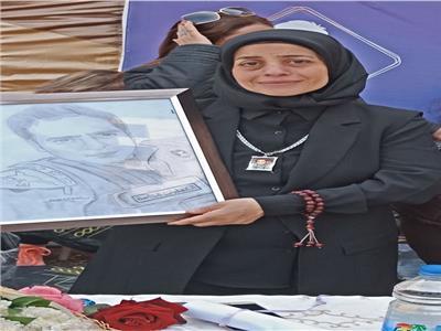 والدة الشهيد إسلام مشهور