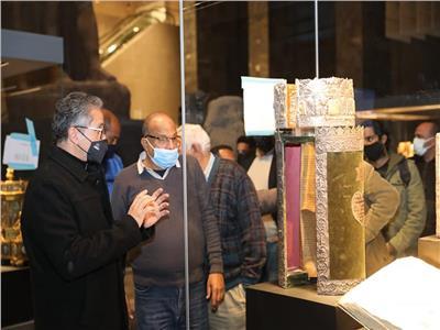 وزير السياحة والآثار يتفقد اللمسات النهائية لمتحف عواصم مصر تمهيدا لافتتاحه الوشيك