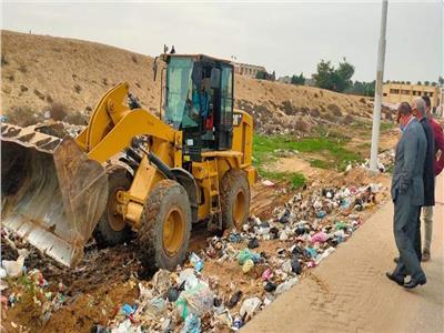 رفع 309 طن مخلفات من شوارع مركز أبوصوير بالإسماعيلية