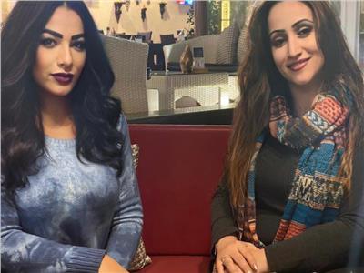 أسماء حبشي والمستشارة الإعلامية عبير الصلاحات