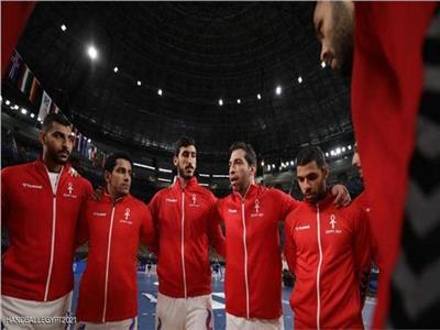 لاعبي منتخب مصر لكرة اليد