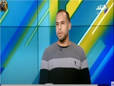 حمد إبراهيم المدرب العام بالجهاز الفني لفريق مصر للمقاصة