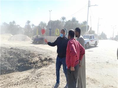 إحلال وتجديد كوبري وتبطين ترعة بمدينة الطود بالأقصر