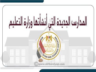 المدارس الجديدة التي أنشأتها وزارة التعليم