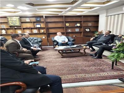 إبراهيم صابر نائب محافظ القاهرة
