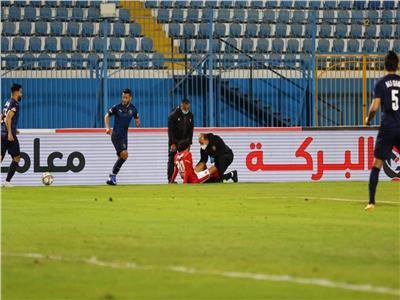 إصابة محمد هاني