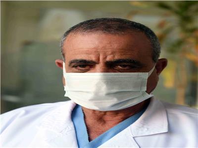 الدكتور سامح شحاتة نائب مدير مستشفى العجوزة للعزل