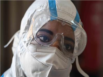 الممرضة شيماء تروي تجربتها مع المرض ..تصوير: طارق إبراهيم - أحمد حسن