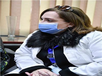 استشاري تحاليل مستشفى عزل هليوبولس | تصوير: طارق إبراهيم - أحمد حسن