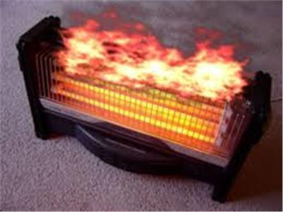 حريق الدفايات بالمنازل