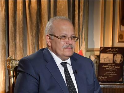 رئيس جامعة القاهرة د. محمد عثمانالخشت