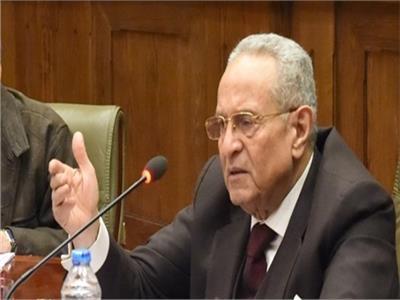 المستشار بهاء أبو شقة، وكيل أول مجلس الشيوخ