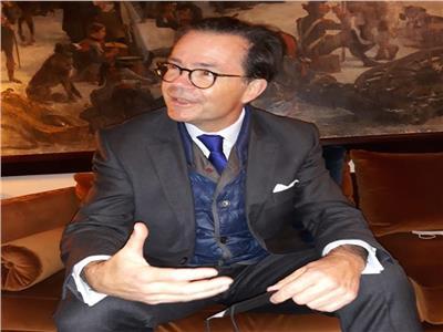 ستيفان روماتييه السفير الفرنسي بمصر
