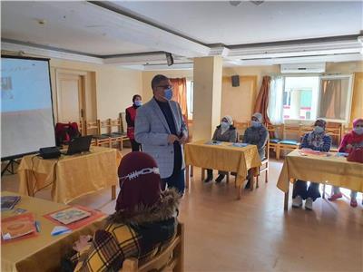 افتتاح البرنامج التدريبيلميسرات حضانات