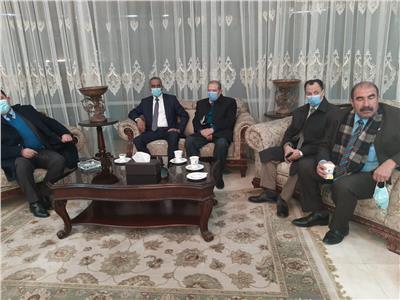 أعضاء السفارة الصينية