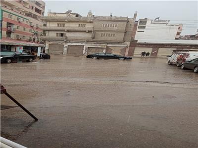 موجة من الطقس السىء والأمطار