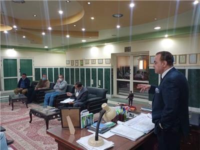 رئيس مدينة ملوي: خطة عمل متكاملة لتقديم خدمة تليق بالمواطن