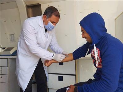 قافلة طبية بقرية الزعفرانة