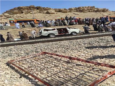 أول صورة لحادث أسوان