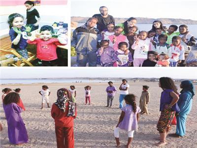 ورشا فنية ومسرحيات للاطفال في..  مبادرة «كابلات»
