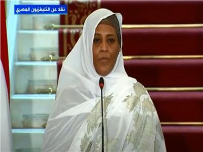 وزيرة الخارجية السودانية الدكتورة مريم الصادق المهدي