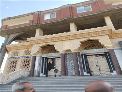 ازالة مسجد مخالف بالبحيرة