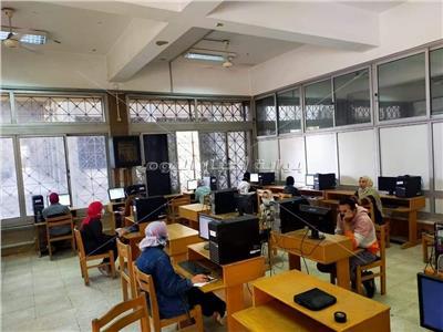 جامعة حلوان تطبيقاً للاختبارات الإلكترونية