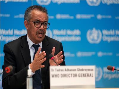 المدير العالم لمنظمة الصحة العالمية تيدروس أدهنوم جيبريسوس