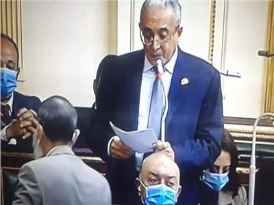 المهندس ياسر عمر وكيل لجنة الخطة والموازنة بمجلس النواب