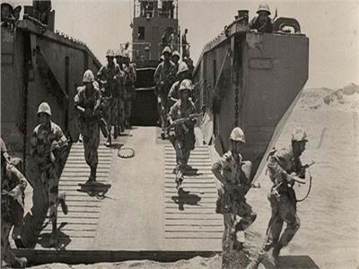 أحد تدريبات الجيش المصري قديما- أرشيفية