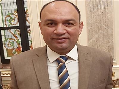النائب أحمد أبو زيد عضو مجلس النواب