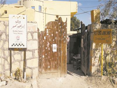 قرية تونس بالفيوم تحولت من قرية نمطية إلى سياحية